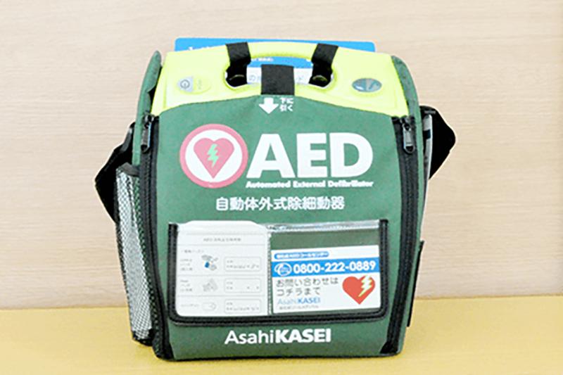 AED(自動体外式細動器)
